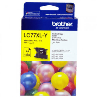 Brother Ink LC77XL Yellow