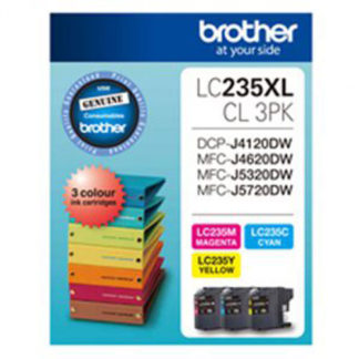 Brother Ink LC235XL 3pk
