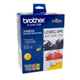 Brother Ink LC38 3pk