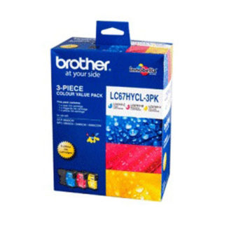 Brother Ink LC67 3pk