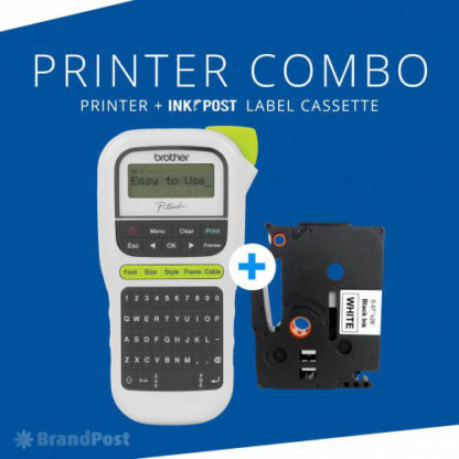 Brother PTH110 P-Touch Label Printer Combo