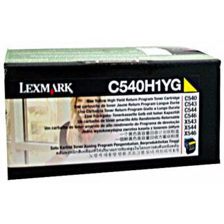 Lexmark C540H1YG Yellow Toner