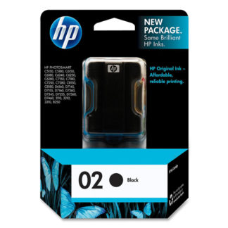 HP Ink 02 Black