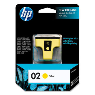 HP Ink 02 Yellow