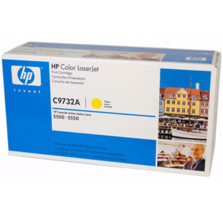 HP C9732A Yellow Toner