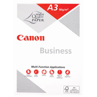 Canon Business A3 White 80GSM 500 Sheets (3pk)