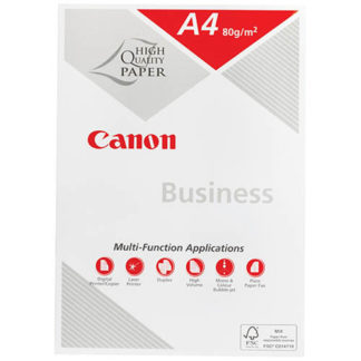 Canon Business A4 White 80GSM 500 Sheets (5pk)