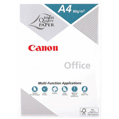 Canon Office White A4 80GSM 500 Sheets (5pk)