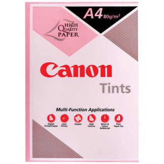 Canon Tints Pink A4 80GSM 500 Sheets