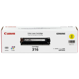 Canon CART316 Yellow Toner