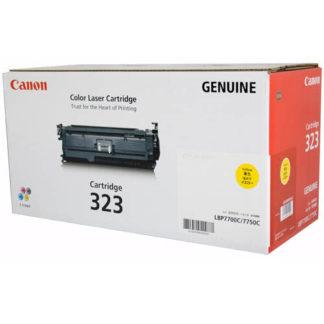 Canon CART323 Yellow Toner