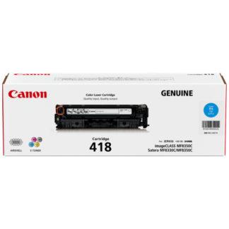 Canon CART418 Cyan Toner