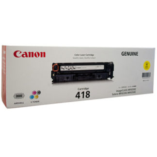 Canon CART418 Yellow Toner