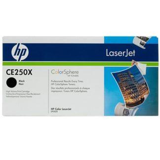 HP CE250X Black Toner