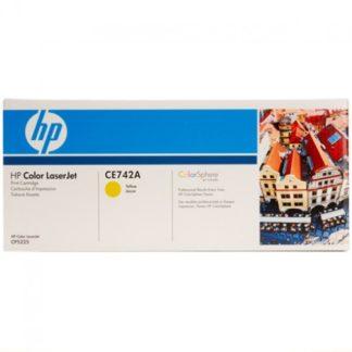 HP CE742A Yellow Toner