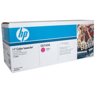 HP CE743A Magenta Toner
