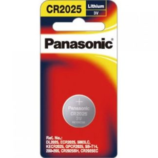 Panasonic Lithium 3v Battery CR2025 1pk