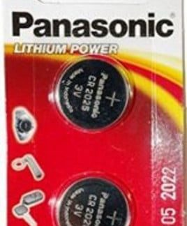 Panasonic Lithium 3v Batteries CR2025 2pk