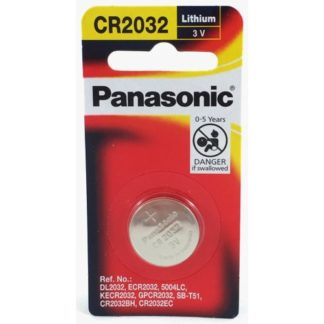 Panasonic Lithium 3v Battery CR2032 1pk