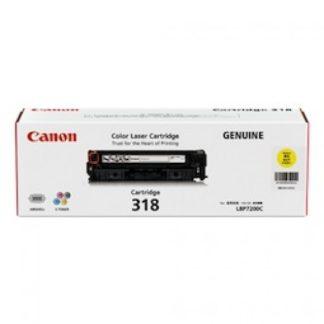 Canon CART318 Yellow Toner