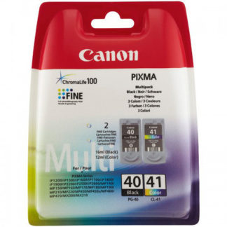 Canon Ink PG40 & CL41 2pk