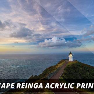 Cape Reinga  NZ Fine Art Acrylic Print A2