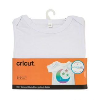 Cricut Baby Bodysuit Blank 0 to 3 month