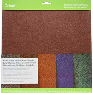 Cricut Pebbled Faux Leather Patina Sampler