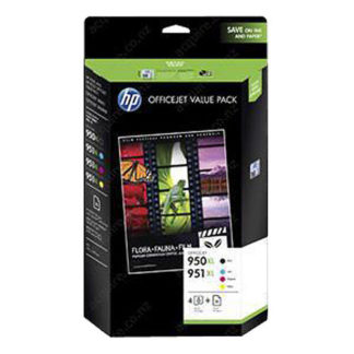 HP Ink 950XL & 951XL 4pk