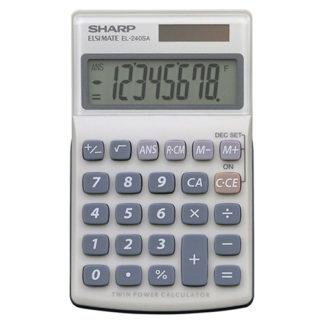 Sharp Calculator EL240SAB Solar