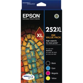 Epson Ink 252XL 4pk
