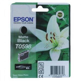 Epson Ink T0598 Matte Black
