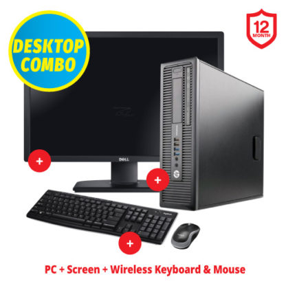 "Ex-Lease HP Elite 800 G1 24"" Combo"