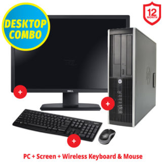 "Ex-Lease HP Elite 8300 24"" Combo"