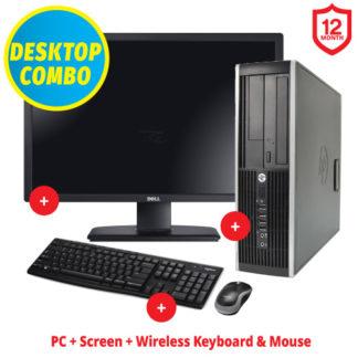 """Ex-Lease HP Elite 8300 24"""" Combo"""