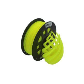 CCTREE 3D Filament PLA Fluorescence Yellow 1.75mm