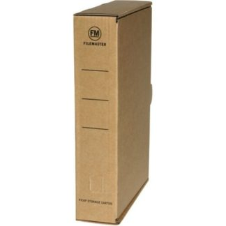 FM Storage Carton Kraft Plain A4