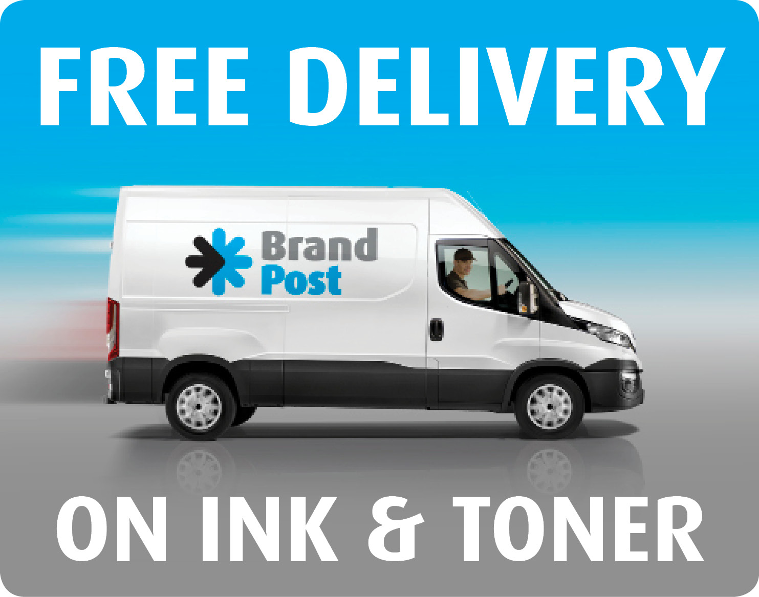 Free delivery on Ink and Toner