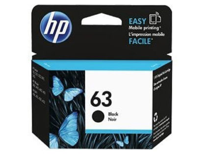 HP Ink 63 Black