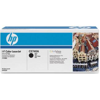 HP CE740A Black Toner