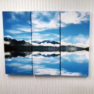 NZ Triptych Cloudy