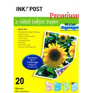 InkPost Double Sided 210gsm A4 20pk