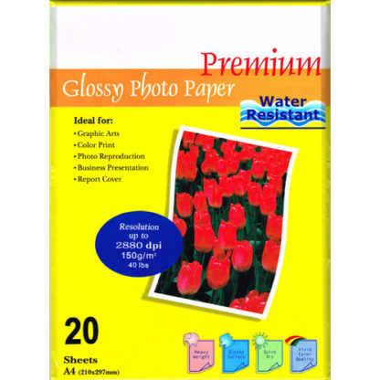 InkPost Glossy 150 A4 20pk