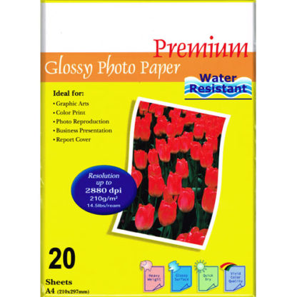 InkPost Glossy 210gsm A4 20pk