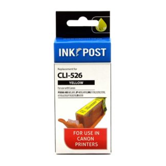 InkPost for Canon CLI526 Yellow