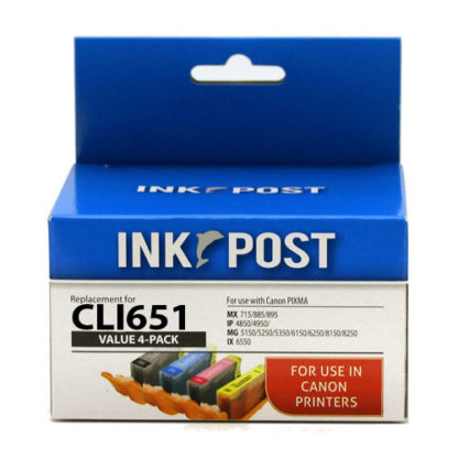 InkPost for Canon CLI651XL 4pk