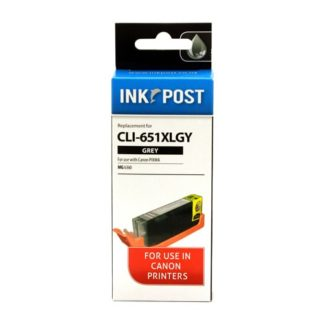 InkPost for Canon CLI651XL Grey