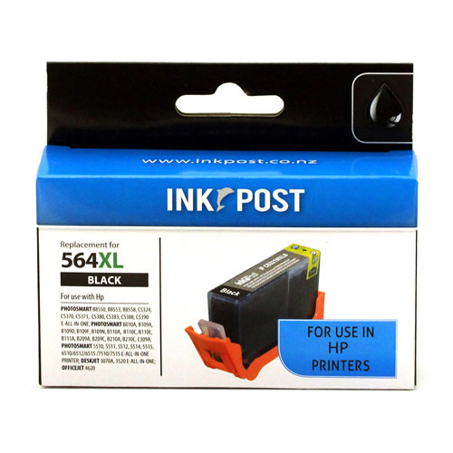 Inkpost For Hp 564xl Black