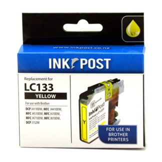 InkPost for Brother LC133 Yellow