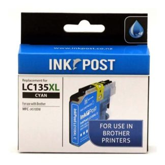 InkPost for Brother LC135XL Cyan